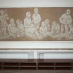 odhalená freska