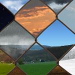Ročníková práce 2.A s názvem Změny počasí
