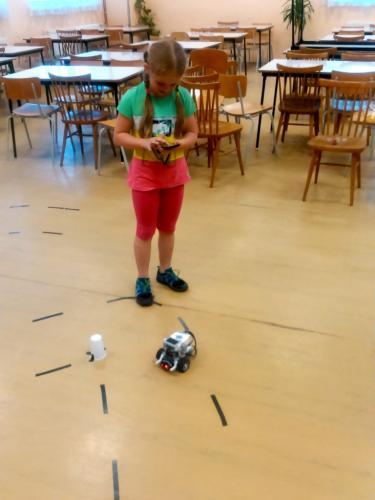 Řízení Lego robota