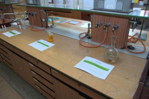 Den otevřených dveří - chemie