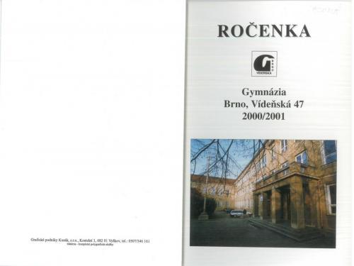 roc 2000-2001 obalka